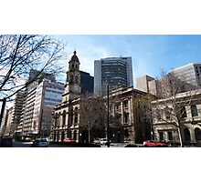 Adelaide Town Hall, King Wlm.Street, City. Photographic Print