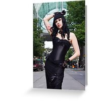 Brittany in Seattle Greeting Card
