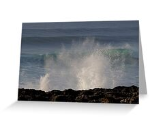 Waves & Splashes Greeting Card