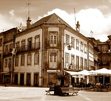 Off the fountain;......Ponte de Lima Village series I !... by sendao