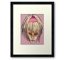 Golden Girl Framed Print