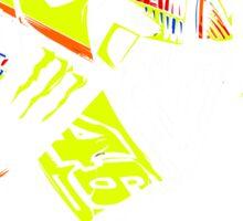 Valentino Rossi Pray Sticker