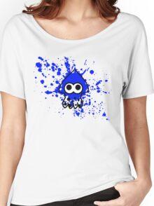 Splatoon Squid Blue Women's Relaxed Fit T-Shirt
