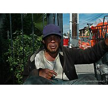 """"""" 20 years on the street """". Photographic Print"""