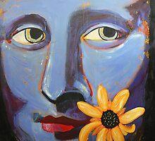 Mona in Purple by TeAnne