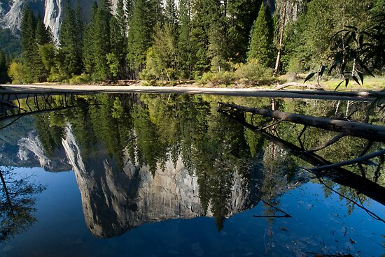 El Capitan, Reflections. by Michael Treloar