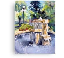 Princess Park - Brandon Manitoba, Canada Canvas Print