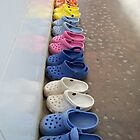 Line of Crocs Shoes by Angie Spicer