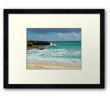 Caribbean Waters Framed Print