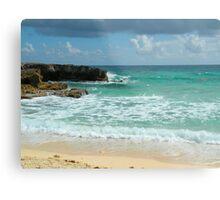 Caribbean Waters Metal Print