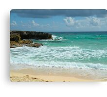 Caribbean Waters Canvas Print