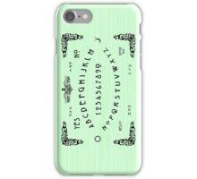 Green Ouija iPhone Case/Skin