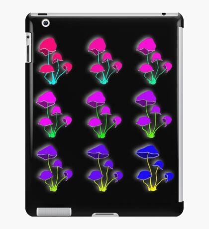 Psychedelic mushrooms iPad Case/Skin