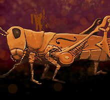 Steampunk Grasshopper by Buckner