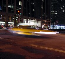 NYC Taxi Blur by agenda
