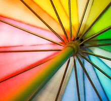 Rainbow Umbrella 1 by jdreamer