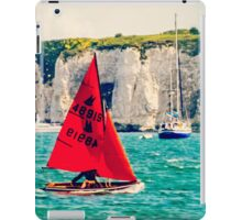 Little Red Sailboat. iPad Case/Skin