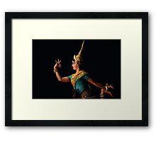 Performing Arts, Cambodia Framed Print