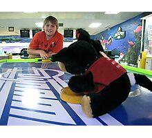 RnR Bowling w Zac ... games of airhockey 2 Photographic Print