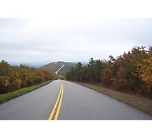 The Winding Stair National Scenic Byway Photographic Print