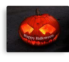 Happy Halloween II Canvas Print