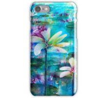 Waterlillies by Karen Veal iPhone Case/Skin