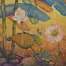 Lotus land by Yuliya Glavnaya