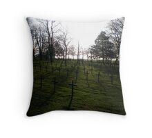 German War Memorial - Just out of Arras, France Throw Pillow