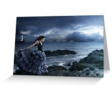 Dance of the Night Wind Greeting Card