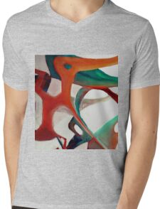 Water Music 2.0 Mens V-Neck T-Shirt