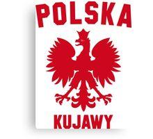 POLSKA KUJAWY Canvas Print