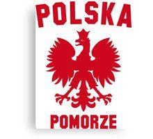 POLSKA POMORZE Canvas Print