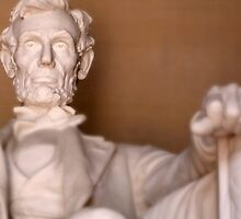 Solitude and Honesty, The Lincoln Memorial by JordyS