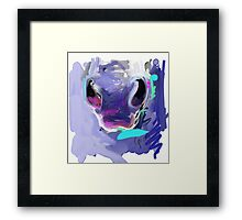 Horse Nose Framed Print