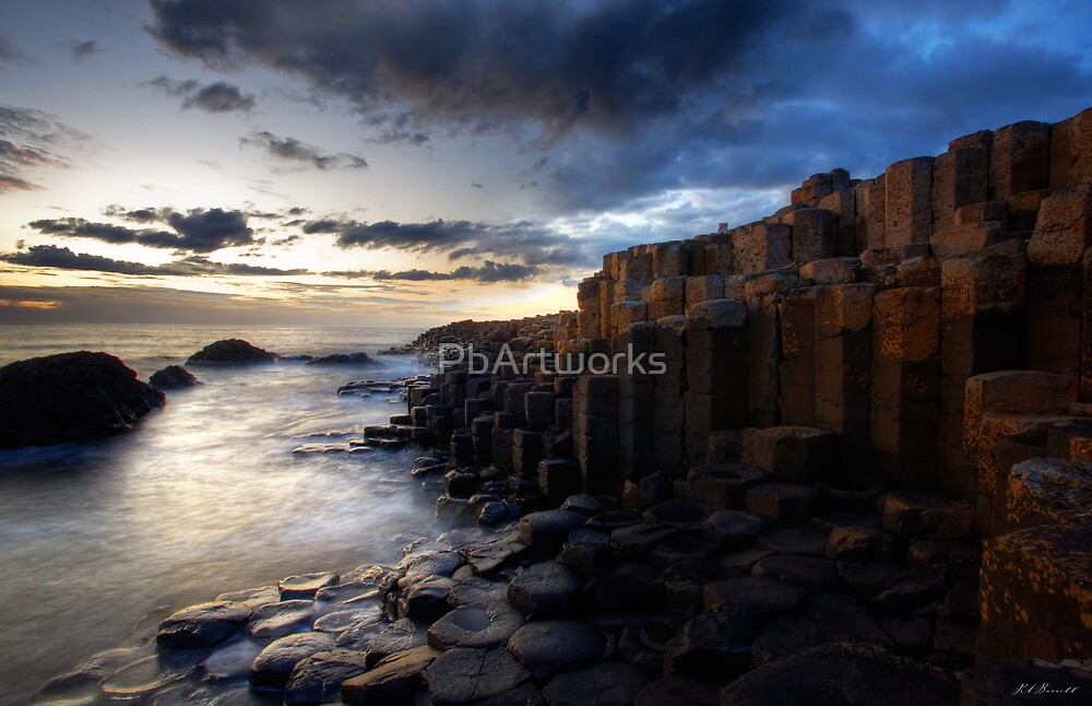 At The Giant's Causeway by PbArtworks
