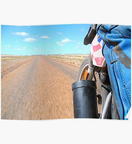 The road - taken from BMW Dakar Poster