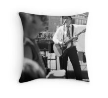 Beer and Tunes Throw Pillow