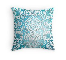 Floral Elegance - Colour Fade Pattern 1 Throw Pillow