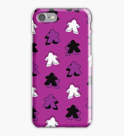 I Call The Purple Meeple iPhone Case/Skin