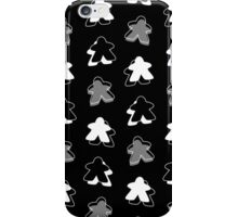 I Call The Black Meeple iPhone Case/Skin