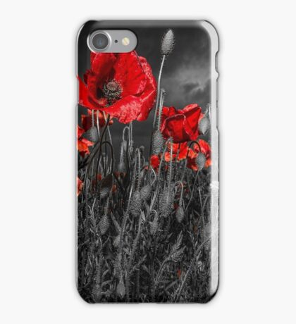 Royal Marine Remembrance iPhone Case/Skin
