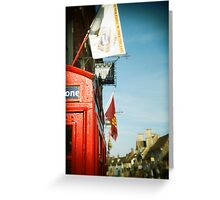 Lechlade Phone Box Greeting Card