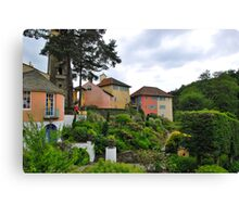 Portmeirion -  North Wales Canvas Print