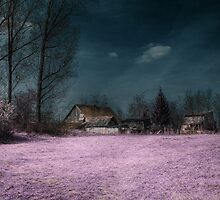 Old Farm, infrared by Vargen