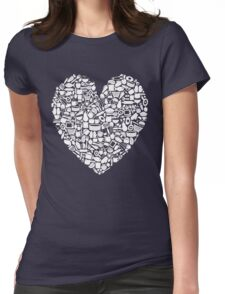 For Those Who Love to Cook Womens Fitted T-Shirt