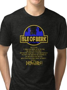 This is Berk How to train your Dragon Tri-blend T-Shirt