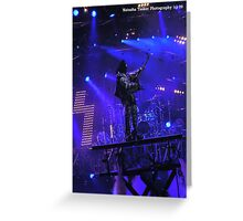 Kiss Concert 2008 Sydney Australia Greeting Card