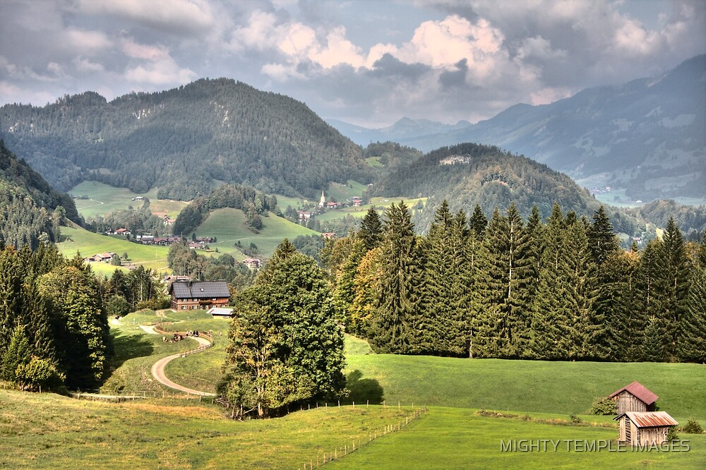 THE SOUND OF MUSIC - HILLS OF GREEN by MIGHTY TEMPLE IMAGES
