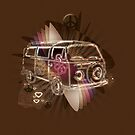 VW Combi Surfing Style by Smurfesque