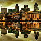 River Thames by Alexandru C.